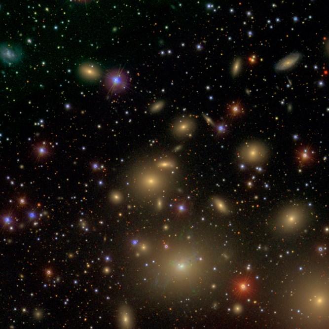 NGC 1277 galaksisi (büyütmek için tıklayın).