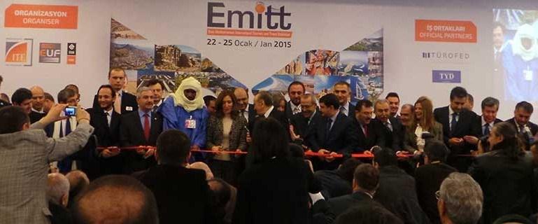 Doğu Akdeniz Uluslararası Turizm ve Seyahat Fuarı (EMITT) 2015, bu yıl 22-25 Ocak tarihleri arasında düzenlenmişti.