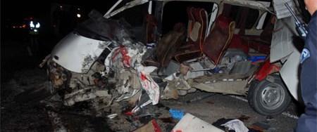 Van'da korkunç kaza: 4 ölü