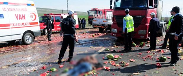 Van'da trafik kazası: 6 ölü