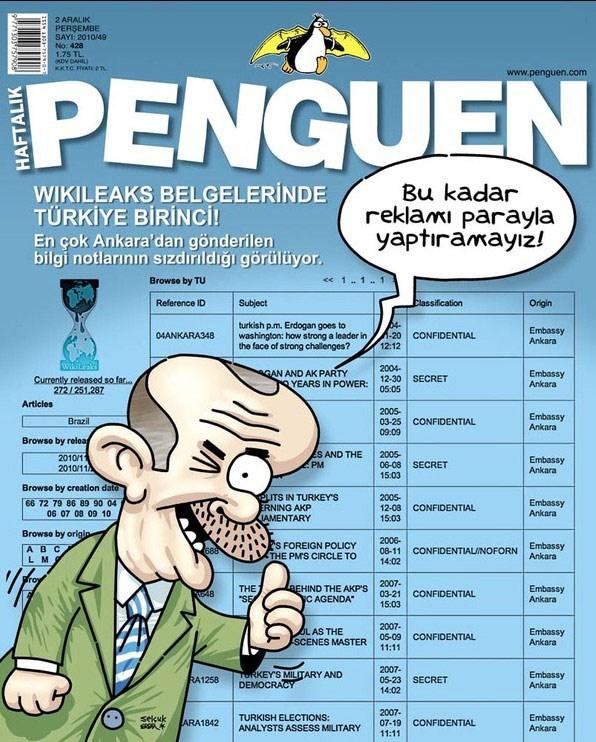 Wikileaks mizahı
