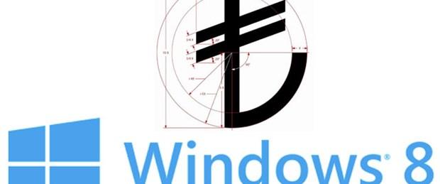 Windows'un yeni TL için güncellemesi çıktı