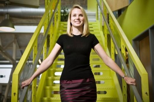 Yahoo'nun CEO'su Marissa Mayer.