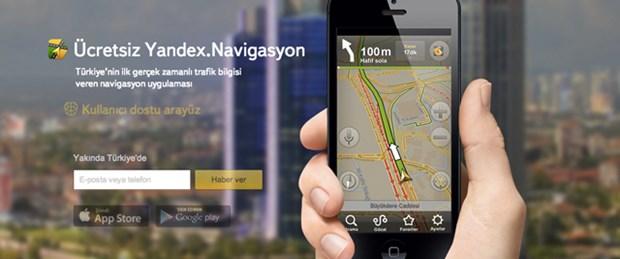 Yandex'ten ücretsiz navigasyon uygulaması