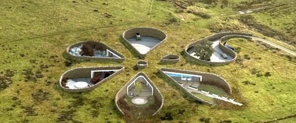 Yeraltına inşa edilen evler revaçta