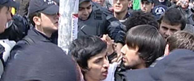 YGS eylemine polis müdahale etti
