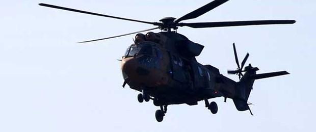 Yüksekova'da komutanın helikopterine ateş