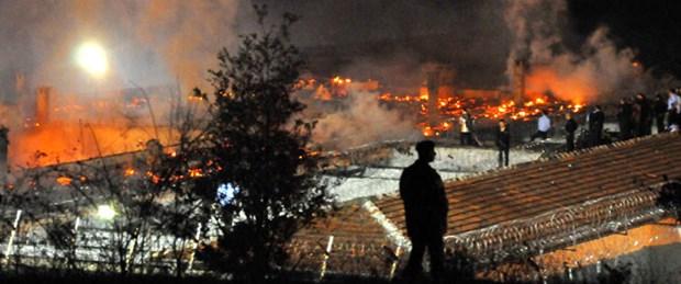 Zonguldak Kapalı Cezaevi'nde yangın