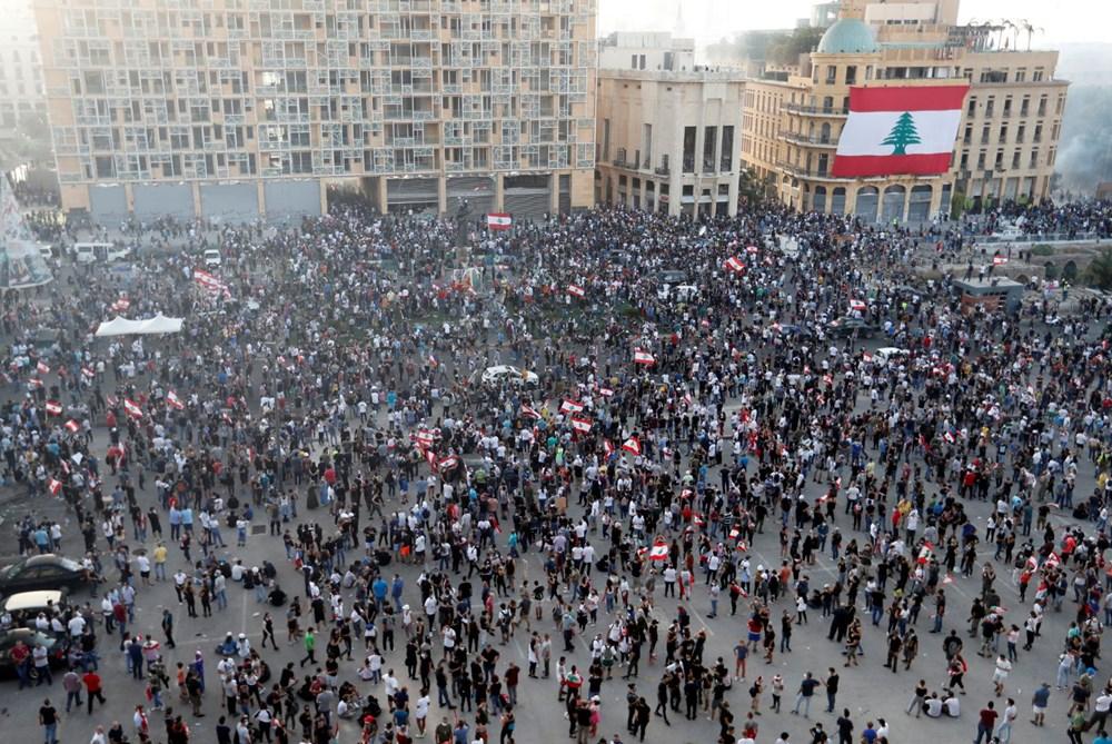 Lübnan'da hükümet karşıtı gösteri (Lübnan Başbakanı'ndan erken seçim açıklaması) - 9