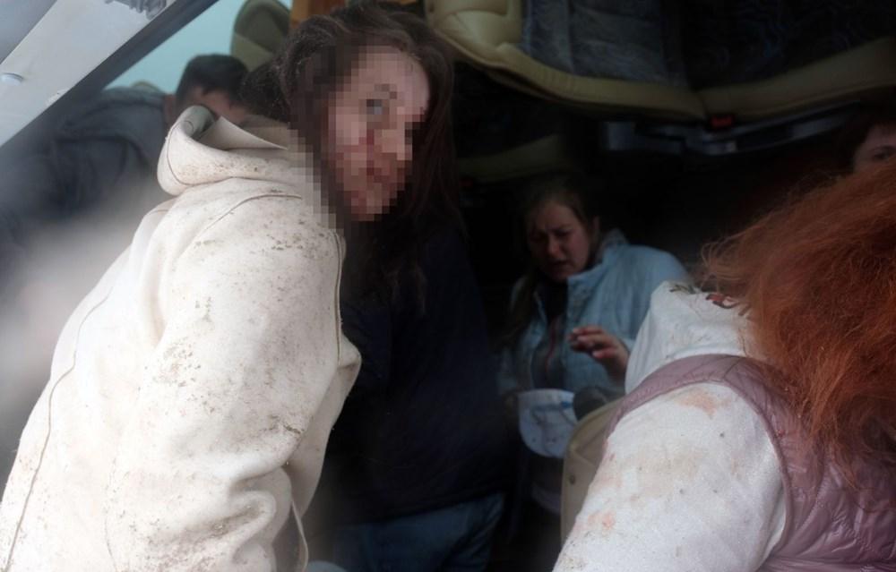 Konya'da 2 tur otobüsü devrildi: 1 Rus turist öldü, çok sayıda yaralı - 13