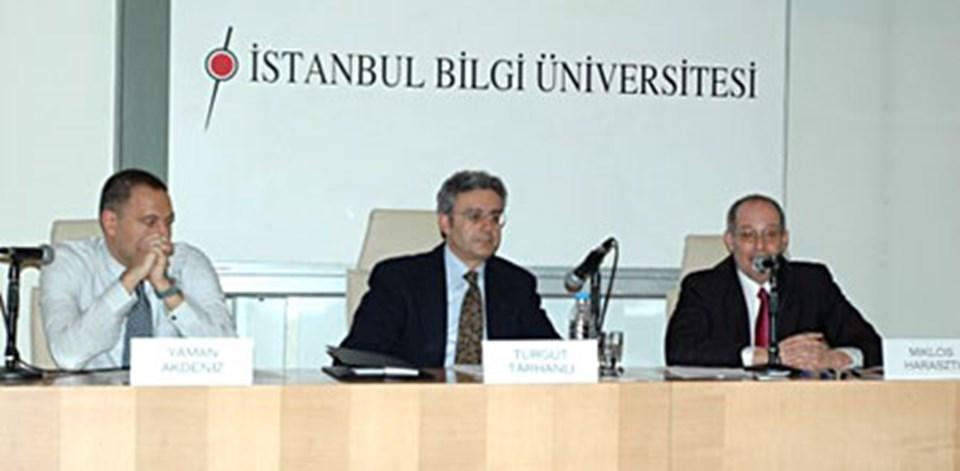"""AGİT Temsilcisi Haraszti (en sağda): """"Türkiye yasaları AGİT'le uyumlu kılınmalı"""""""