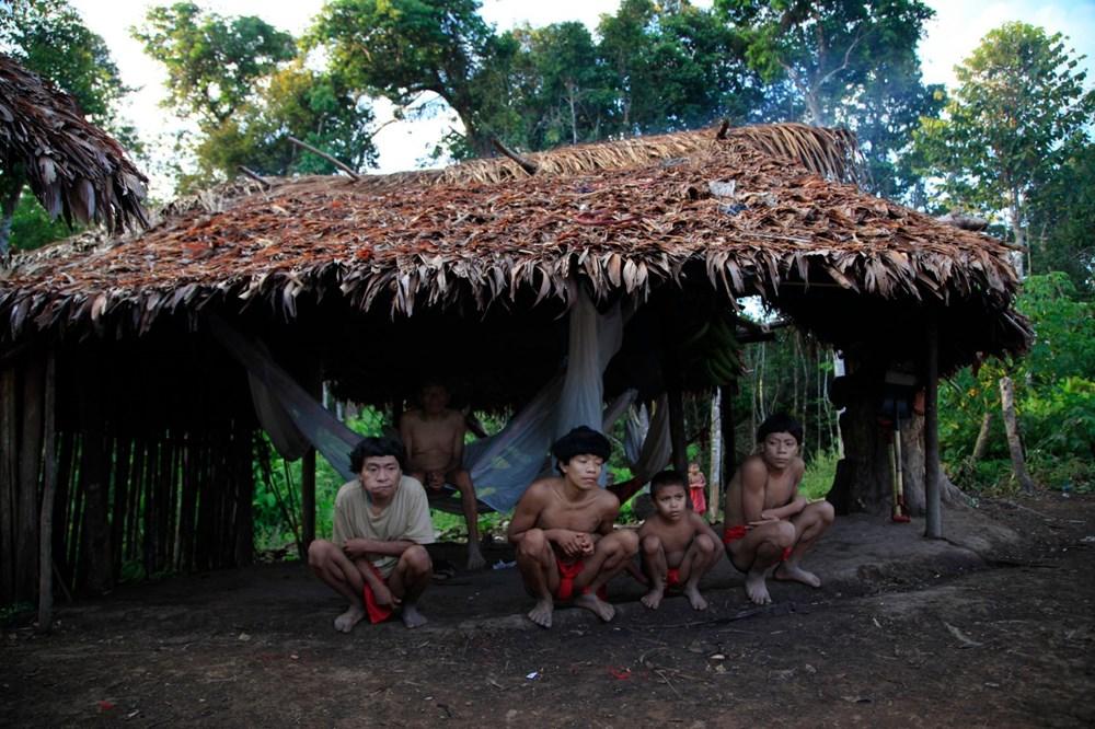 Amazon'un son  kabilesi altın avcıları nedeniyle tehlikede - 10