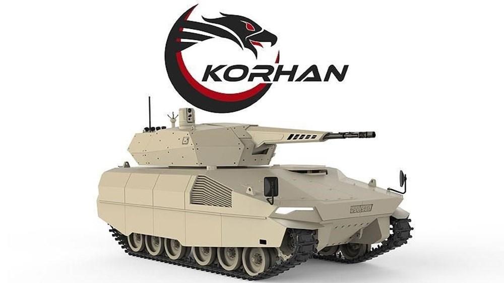 Dijital birliğin robot askeri Barkan göreve hazırlanıyor (Türkiye'nin yeni nesil yerli silahları) - 222