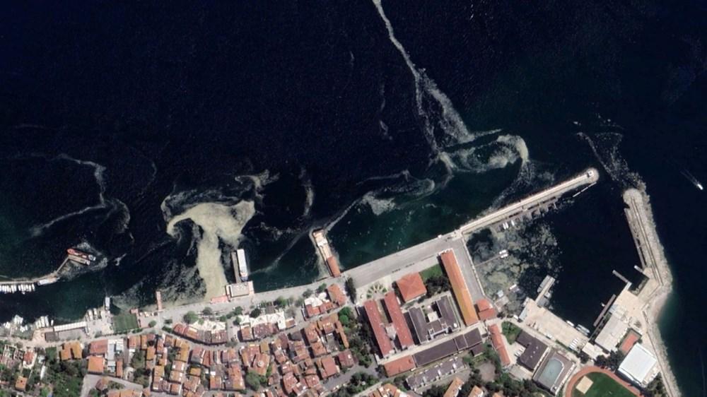 İstanbul'daki müsilaj uzaydan görüntülendi - 10