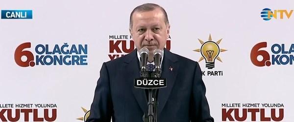 Cumhurbaşkanı Erdoğan:Türkiye yanarken sesleri çıkmayanlar sahaya indi