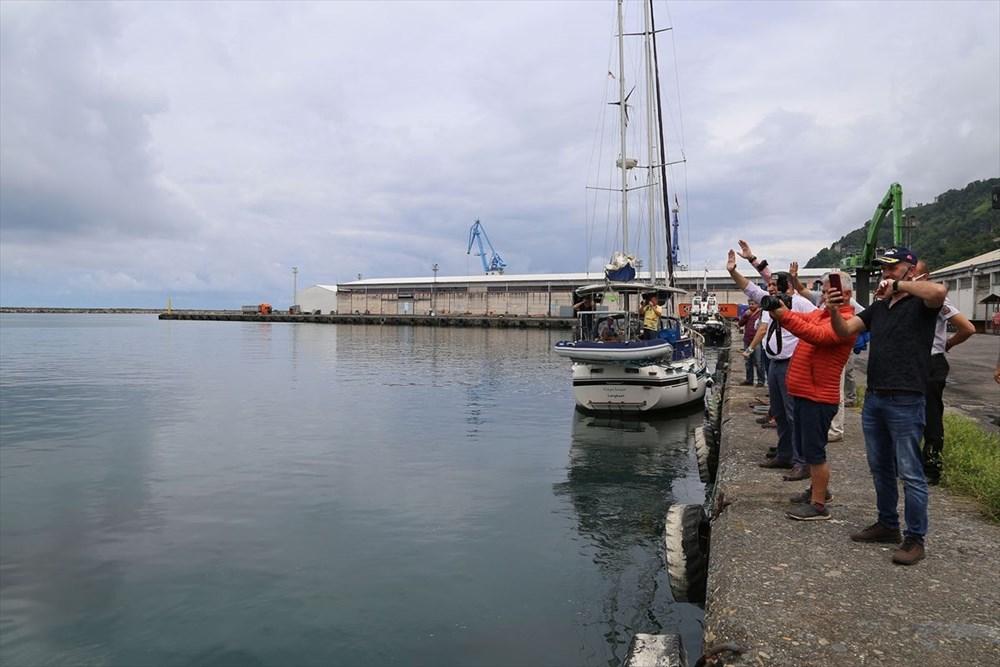 Yelkenci Tolga Pamir, rekor için Türkiye'nin 4 denizini boydan boya geziyor - 9
