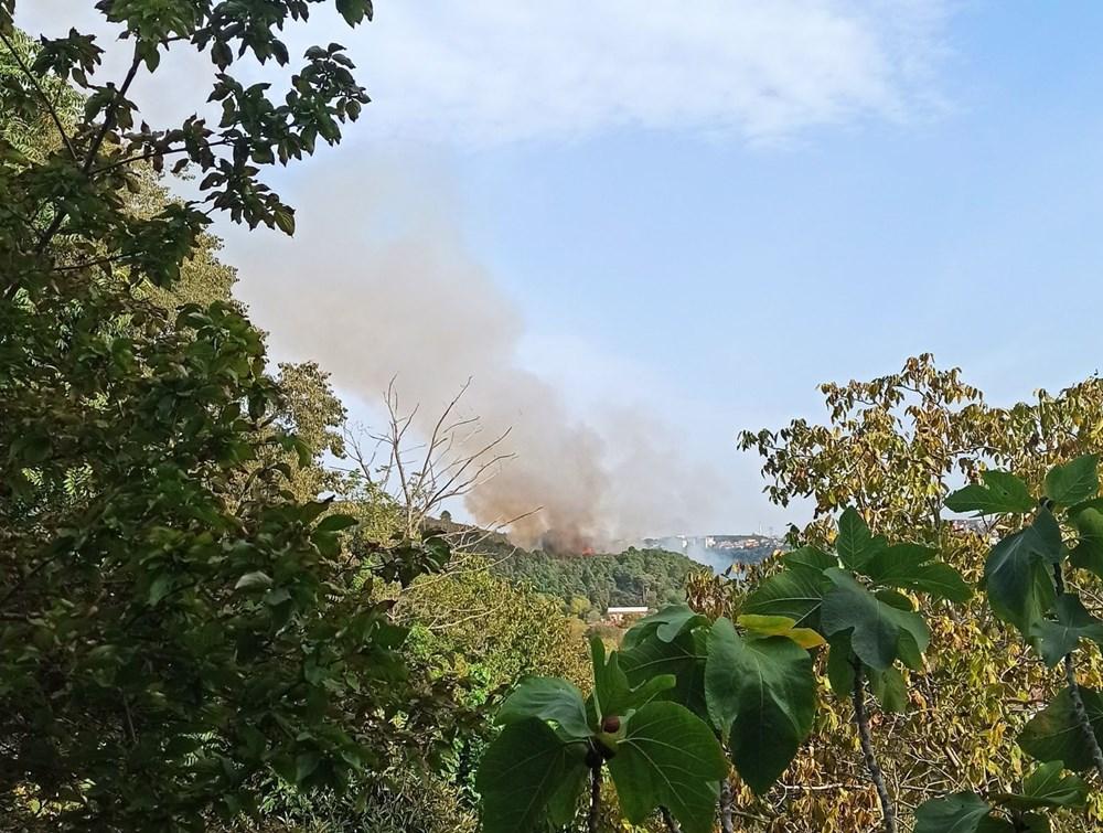 Son Dakika: Anadolu Hisarı'nda orman yangını - 5