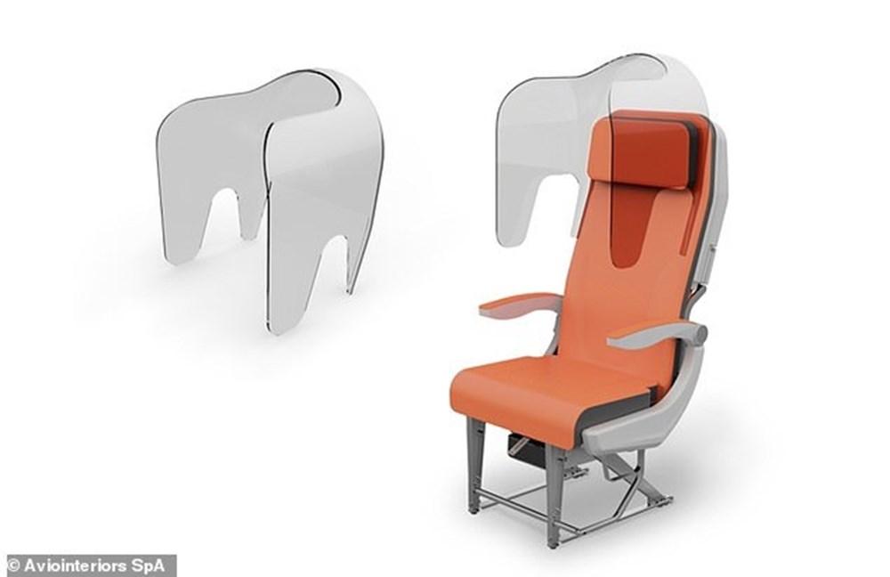 Corona virüs etkisi: Uçak yolculukları için yeni tasarım - 4