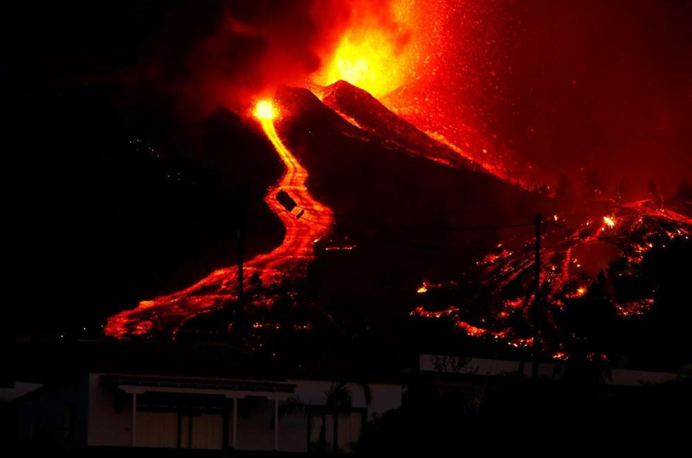 Kanarya Adaları'ndaki Cumbre Vieja yanardağı faaliyete geçti: 5 bin kişi tahliye ediliyor - 6