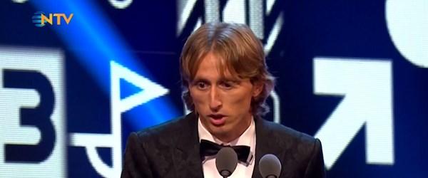 Yılın futbolcusu Modric... (Ronaldo-Messi ambargosunu sonlandırdı)