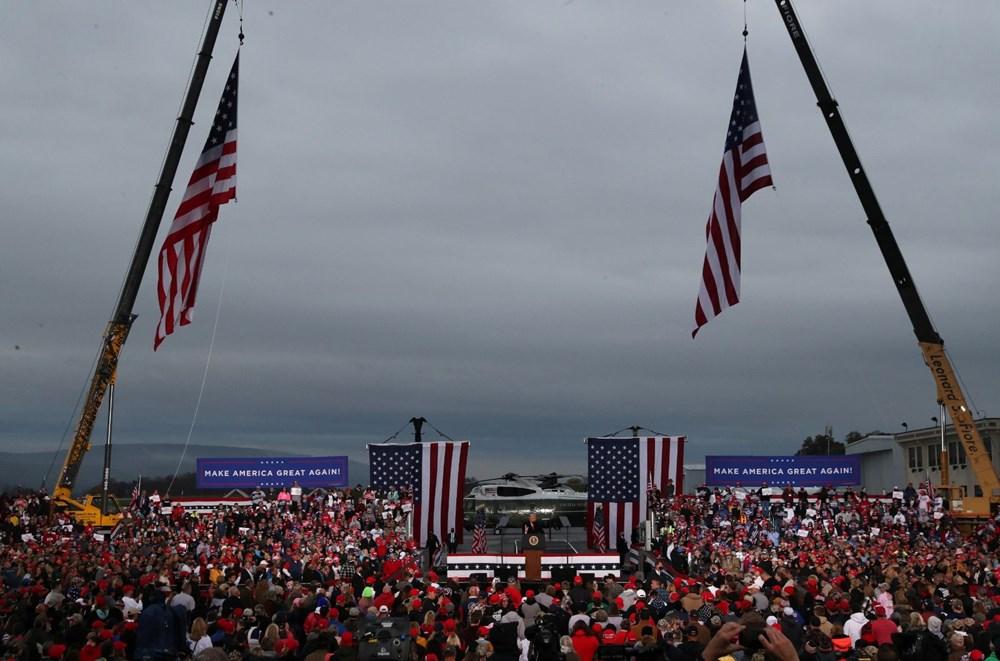 ABD'de seçime 7 gün kaldı: Anketlere göre Biden önde - 8