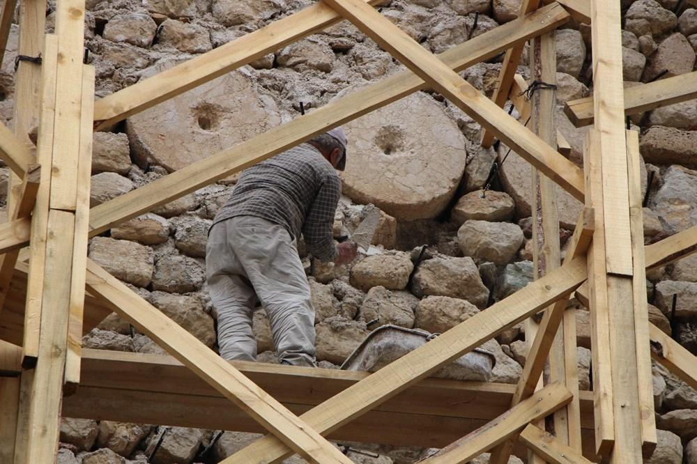 Amasya'da 2 bin 400 yıllık surlar restore ediliyor - 2