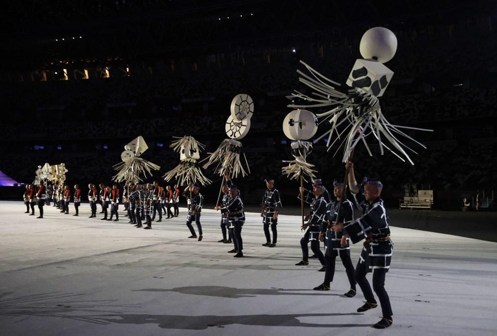 2020 Tokyo Olimpiyatları görkemli açılış töreniyle başladı - 35