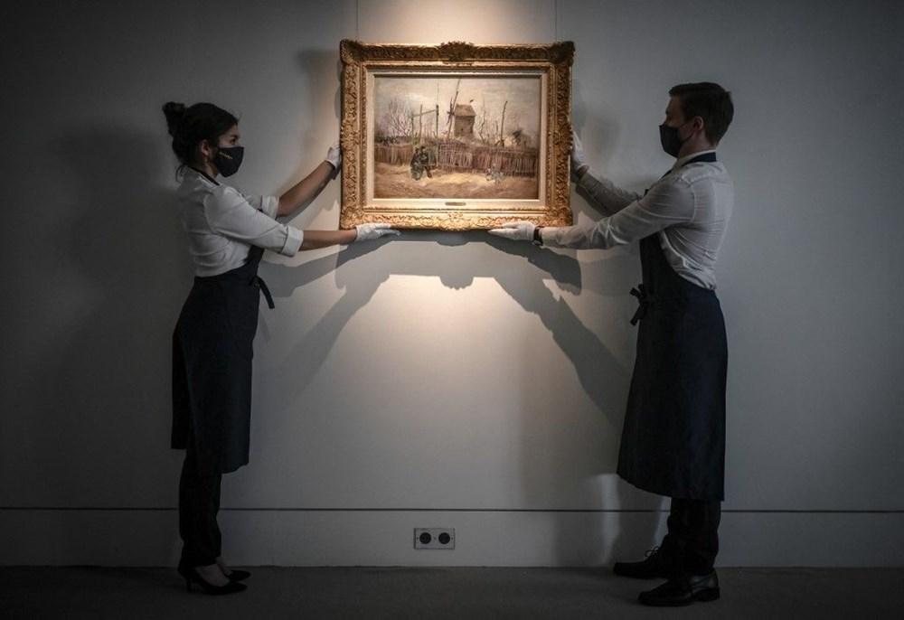 Van Gogh'un Montmartre eseri ilk defa görüntülendi: 6,9 milyon sterline alıcı bulacak - 3