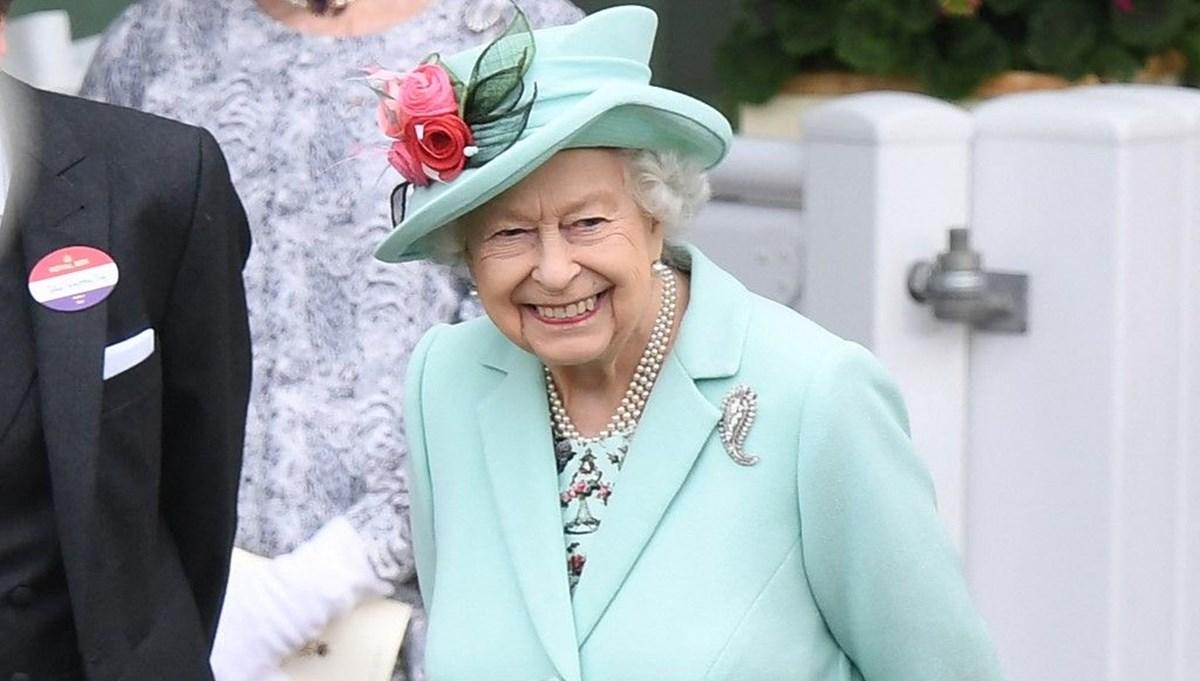 Kraliçe Elizabeth 2021 Royal Ascot At Yarışları'nda
