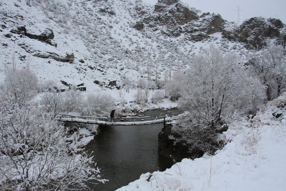 Yurtta kar yağışı (İzmir'in yüksek kesimlerinde kar yağışı etkili oluyor) - 6
