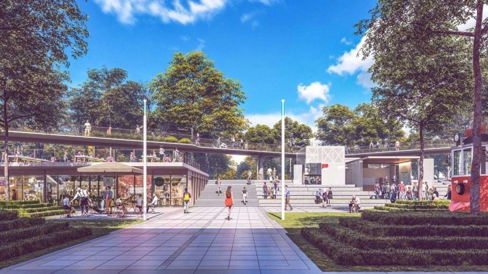 Taksim Meydanı Tasarım Yarışması sonuçlandı (Taksim Meydanı böyle olacak) - 10