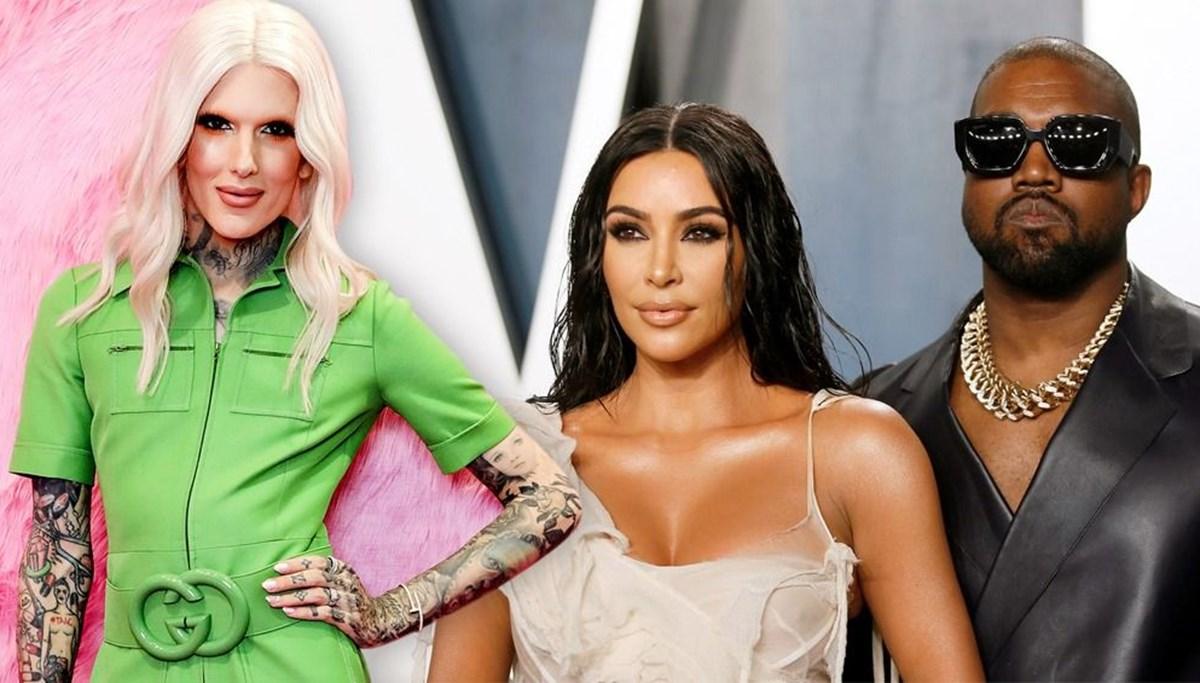 Kanye West'in Kim Kardashian'ı aldattığı iddiasına Jeffree Star'dan açıklama