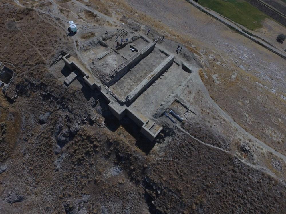 Urartular'a ait 2 bin 750 yıllık tahıl ambarları koruma altına alınıyor - 6