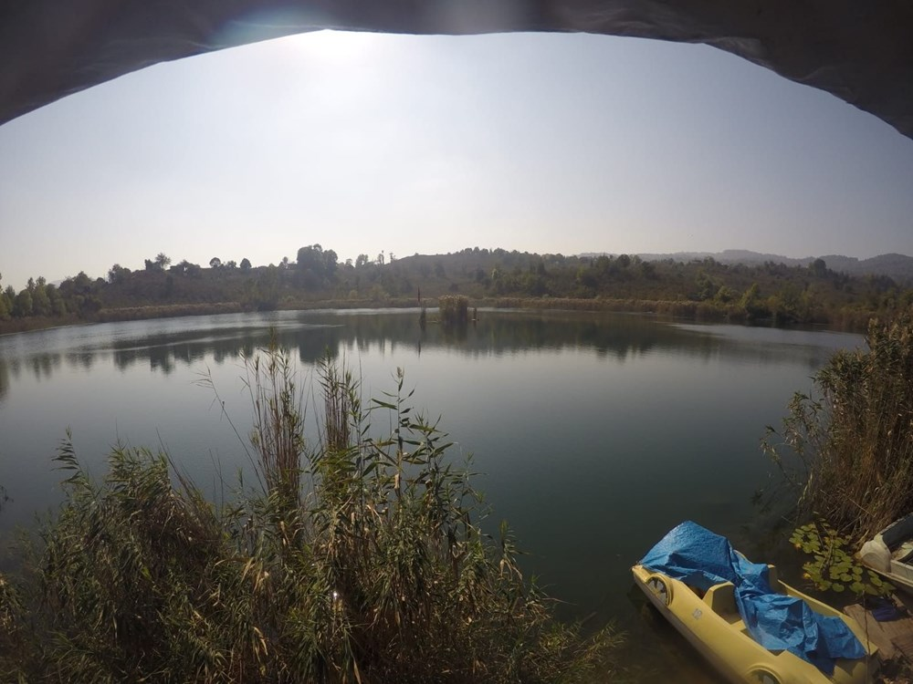 Gaga Gölü'nde kilise kalıntılarına rastlandı - 6
