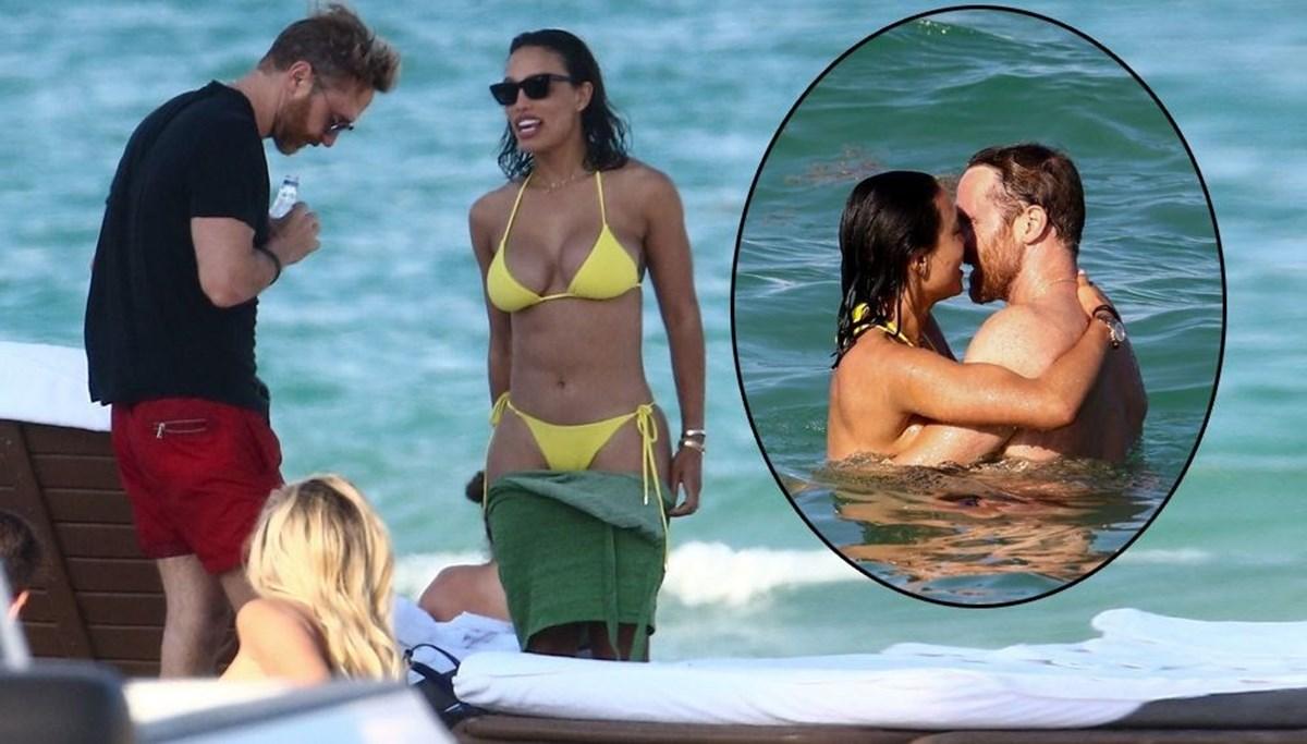 David Guetta ile Jessica Ledon'ın romantik tatili