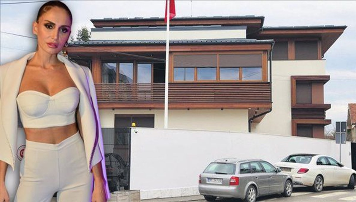 Emina Jahovic evini Türk Konsolosluğu'na kiraya verdi