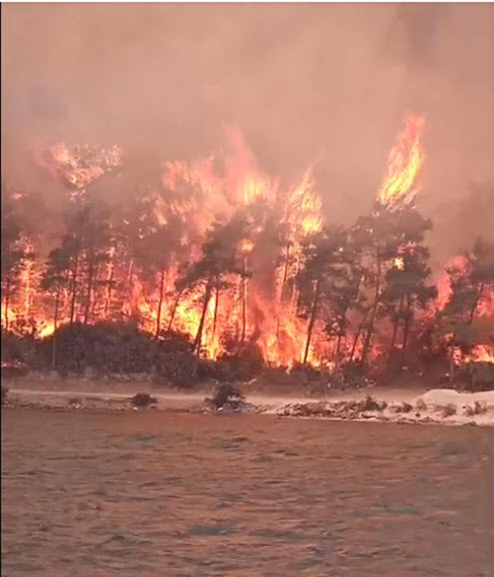 Antalya, Adana, Mersin, Aydın, Muğla, Osmaniye, Kayseri ve Manisa'da orman yangınları - 26