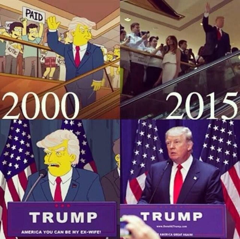 Simpsonlar'ın (The Simpsons) kehaneti yine tuttu: Biden ve Harris'in yemin törenini 20 yıl önceden bildiler - 18