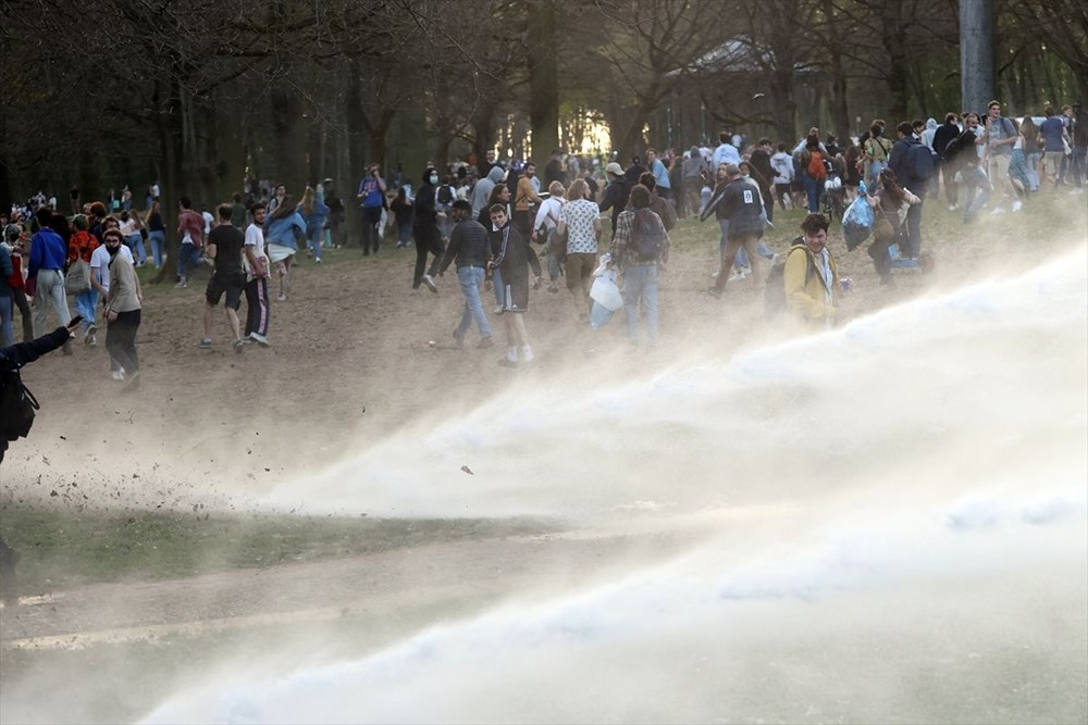 Police intervened when the festival, which was announced as April 1 joke in Belgium, turned into reality - 8