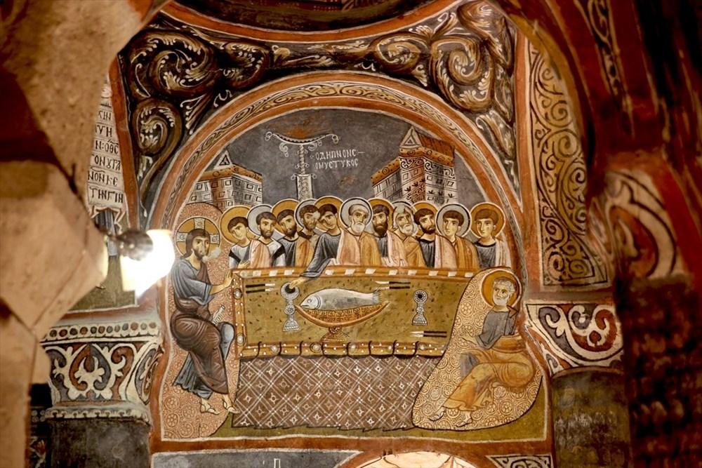 Karanlık Kilise'nin freskleri ile bin yıl öncesine yolculuk - 2