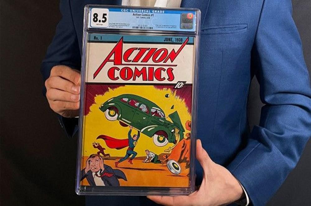 Süpermen çizgi romanına rekor fiyat - 3
