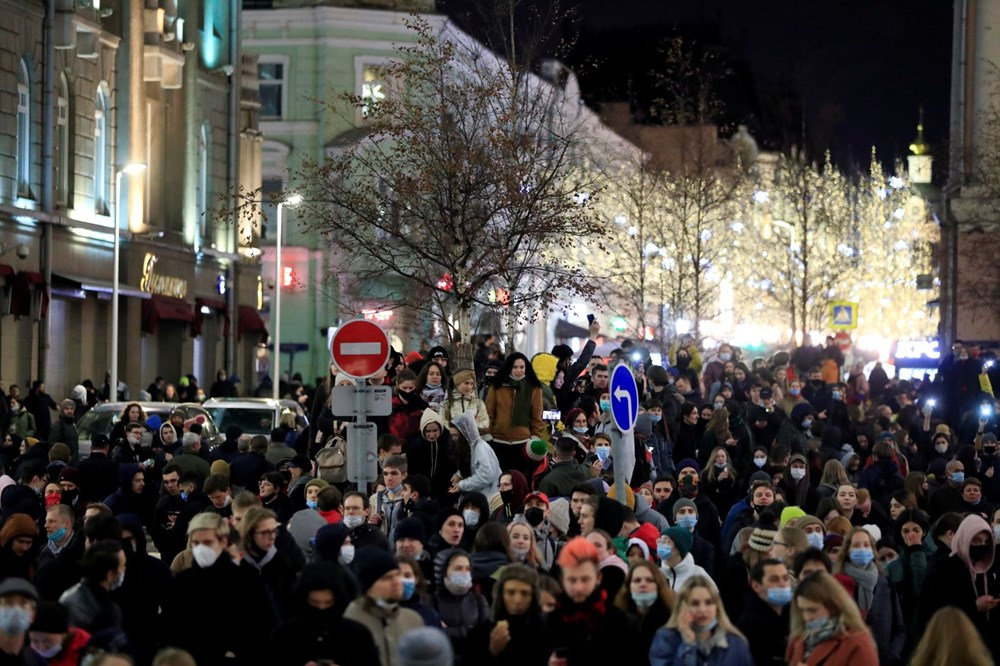 Rusya'da Navalny protestoları: Bin 700'den fazla kişi gözaltına alındı - 19