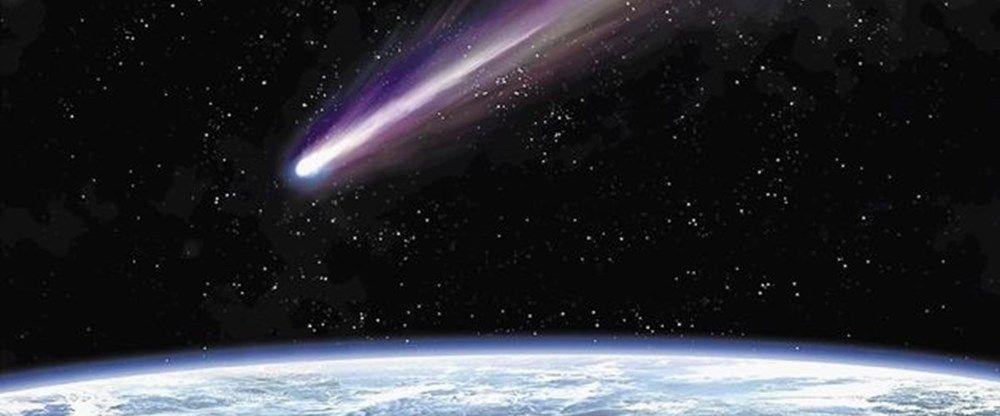 Dünya'ya yaklaşan kuyruklu yıldız astronotlar tarafından görüntülendi - 7