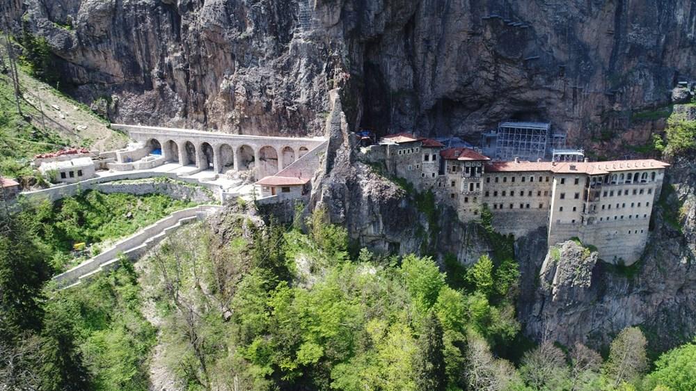 Sümela Manastırı'nda ayin başladı - 2