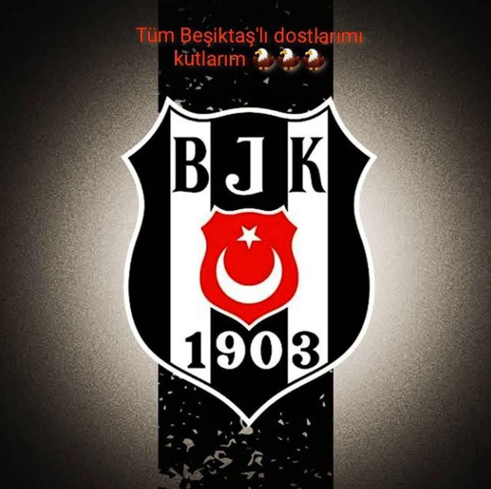 Ünlülerden Beşiktaş'ın şampiyonluk paylaşımları - 11