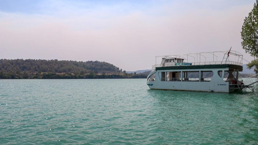 Manavgat Baraj Gölü'nde kurtarılmayı beklediler: Küllü, kömürlü sudan içtik - 4