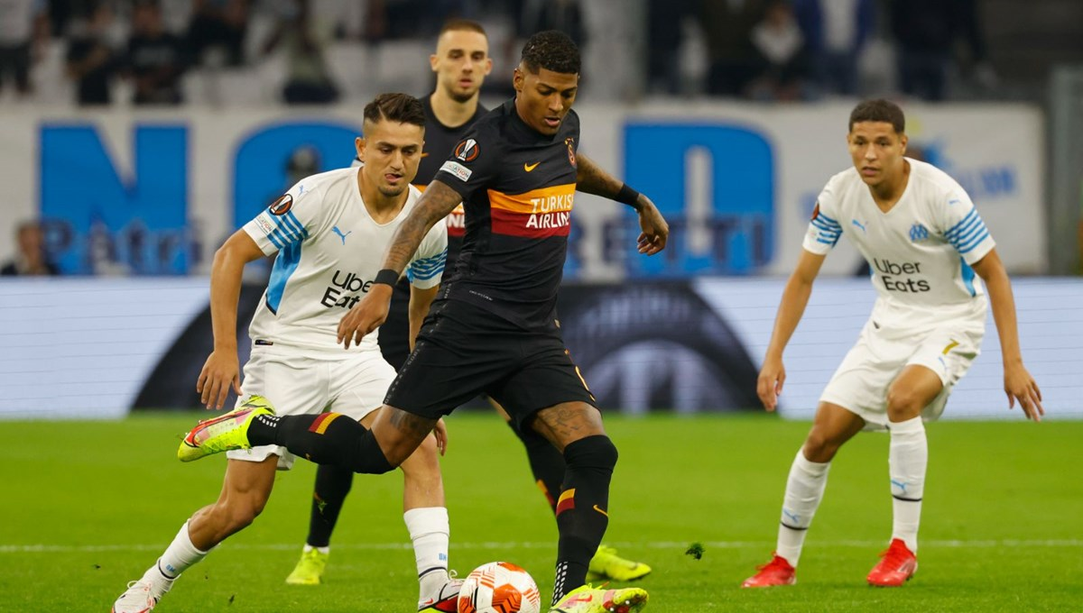 UEFA Avrupa Ligi: Galatasaray, Marsilya deplasmanından puanla dönüyor
