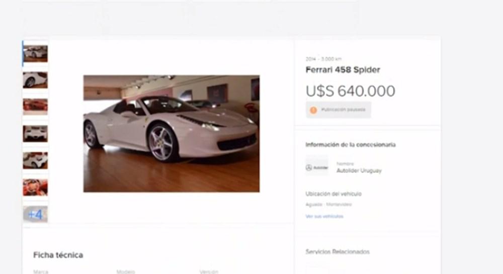 Tosuncuk'un Uruguay maceraları 3: Başını yakan Ferrari'nin görüntüleri ortaya çıktı - 8