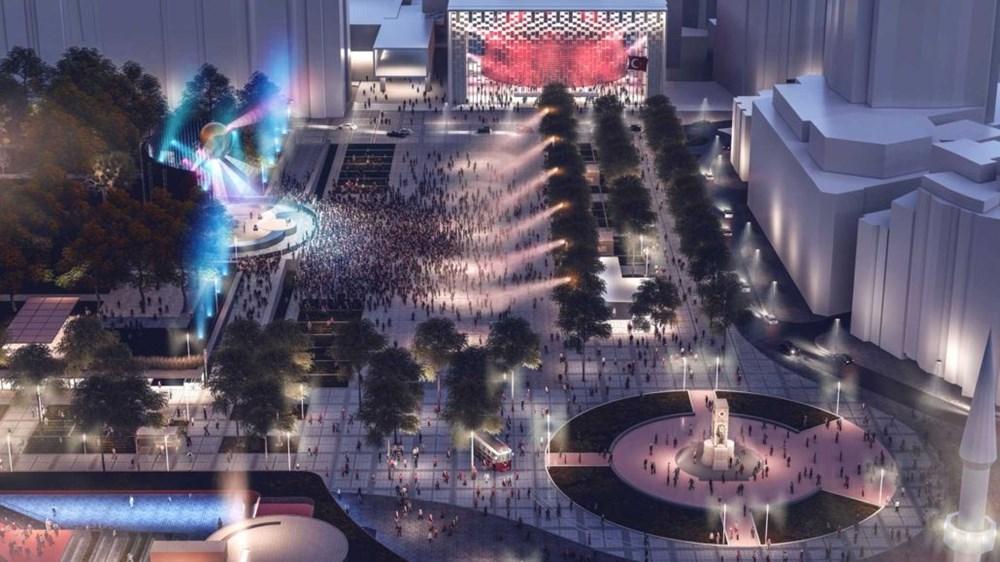 Taksim Meydanı Tasarım Yarışması sonuçlandı (Taksim Meydanı böyle olacak) - 8