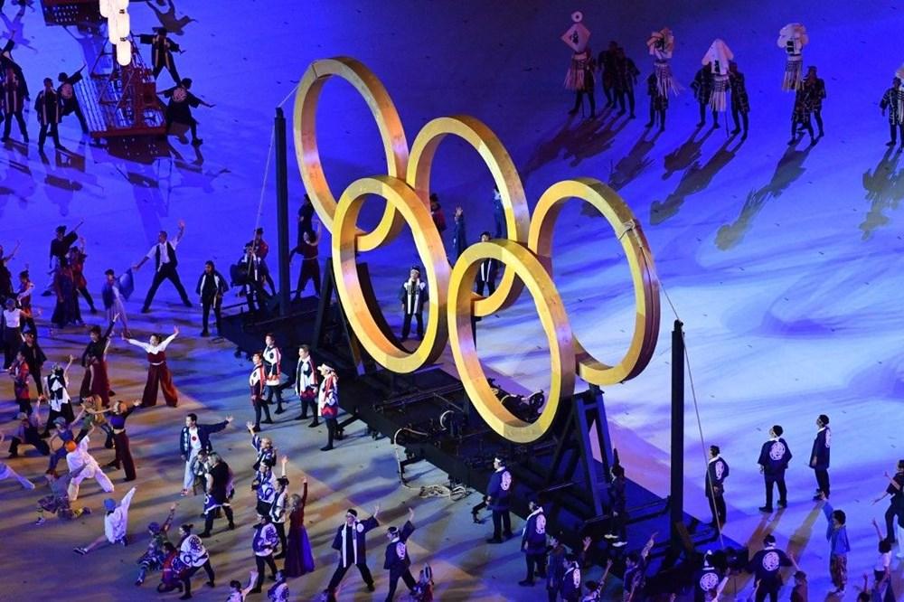 2020 Tokyo Olimpiyatları görkemli açılış töreniyle başladı - 87